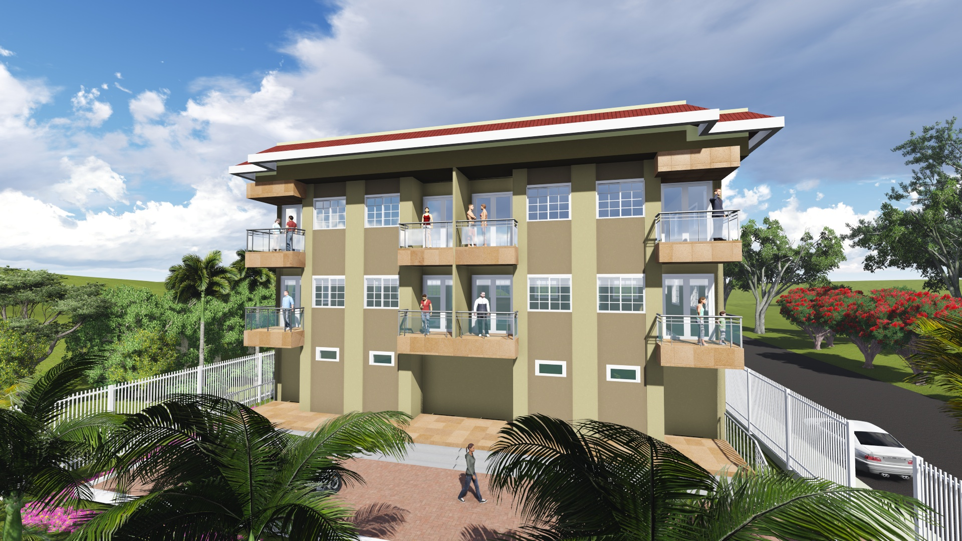 Retire in Belize at the Diplomat, a new development in Belize City